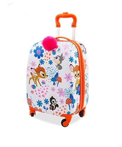 DS Disney Store Trolley Piccolo Rigido Bagaglio a Mano Valigia Ragazza Bambina Furrytale Bambi Originale