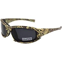 EnzoDate Daisy X7 polarizado ejército gafas de sol, gafas militares 4 lente Kit, hombres juego de guerra táctica gafas al aire libre (Camuflaje, 1 lente polarizada (fuera de 4))