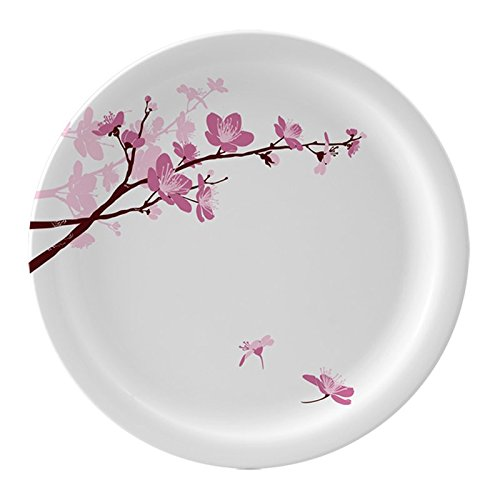 Servewell Pink Blossoms Round Side Plate Set of 6