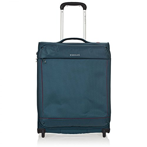 Trolley cabina 2r Roncato CONNECTION 55x40x20 kg. 1,70 colore blu petrolio