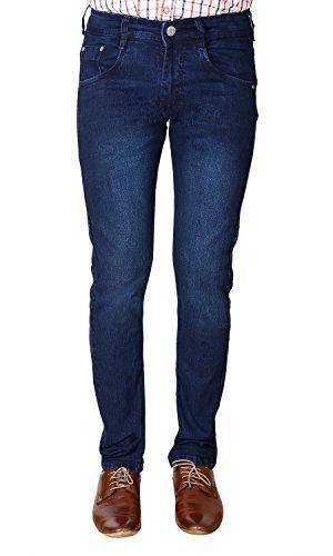 FlyJohn-Mens-Blue-Slim-Fit-Denims-Jeans