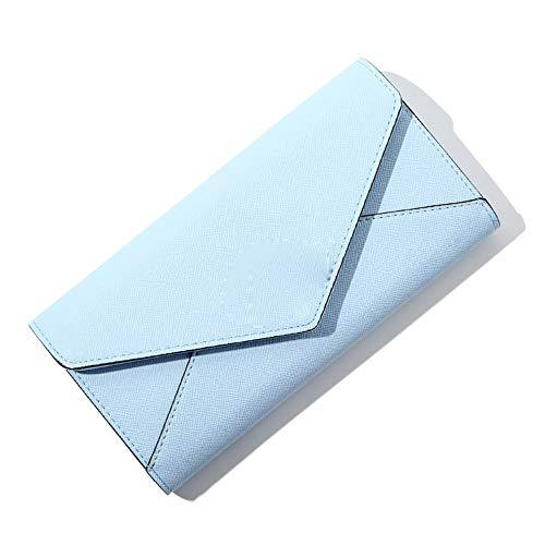 Vnlig Pochette da Donna Portafoglio da Donna (Color : Blue)