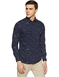 Celio Men's Floral Slim fit Casual Shirt