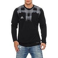 Adidas UEFA Europa League Fussball Schiedsrichter Trikot Formotion Climacool (Schwarz, M)