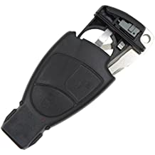 Keyfobworld Keyless Entry Remote Key Fob Replacement for Benz Mercedes CLS CLK SLK S A B C E ML Class Batery Holde