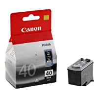 CANON 0615B025 PG-40 BK Orijinal Mürekkep Kartuşu, Siyah