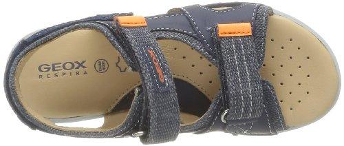 Geox J Y.S.Road E, Sandales fille Bleu (Jeans/Navy)