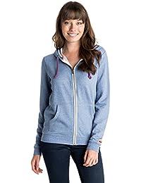 Roxy Signature - Sudadera ajustada con capucha para niña, color azul, talla XS