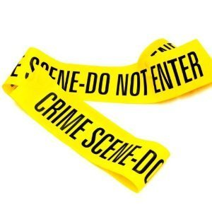 Crime Scene Do Not Enter Tape -