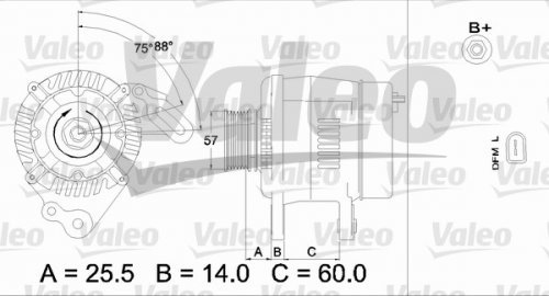 Valeo 437402 Generator