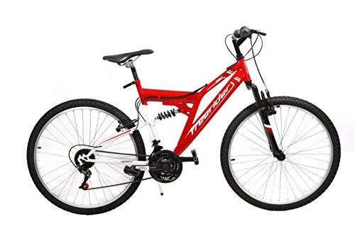 'F. lli Schiano bicicleta biammortizzata 2618V D15Rojo/Blanco