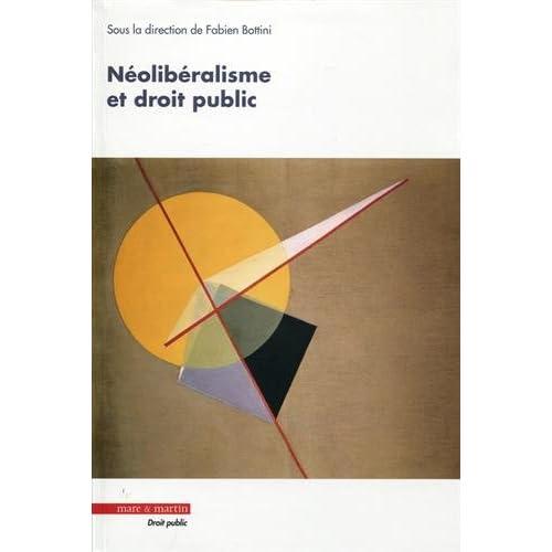 Néolibéralisme et droit public