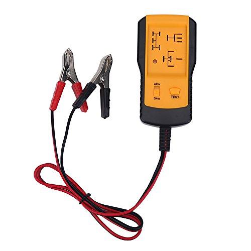 Tihebeyan Kfz Relais Tester, Selbstdiagnosescanner Tool 12V Universal Relais Tester Auto Auto Battery Checker