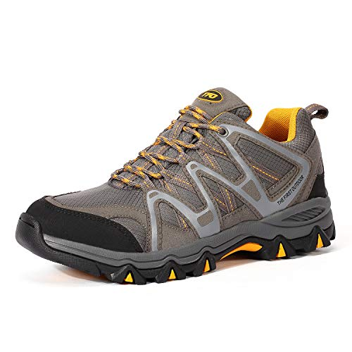check out 4e405 bcd57 TFO, Chaussures Basses pour Homme - - Gris Jaune, 45