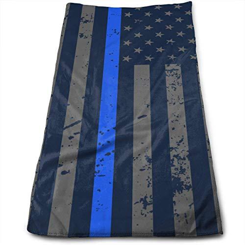 Hipiyoled Retro Police Officer Flag Maximale Weichheit und vielseitige Handtücher Reisegymnastik Home Office Handtuch