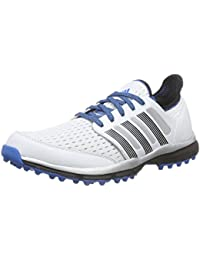 adidas Adicross Gripmore 2 Zapatos de Golf, Hombre, Azul/Blanco, 48.6