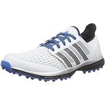 Adidas Climacool St Zapatos de Golf para Hombre, Azul/Naranja, 46