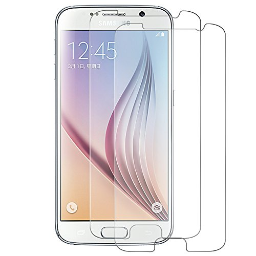 [2-Pack] Samsung Galaxy S6 Cristal Templado Protector de Pantalla, Nazzamo Samsung Galaxy...