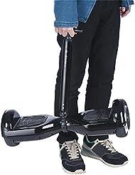 o Mango de equilibrio manillar para patinete eléctrico hoverboard, soporte barra aluminio Negro