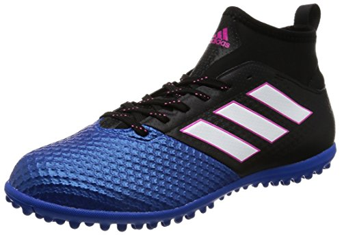 adidas  Ace 17.3 Primemesh Tf, Chaussures de Football Entrainement homme noir/blanc/bleu