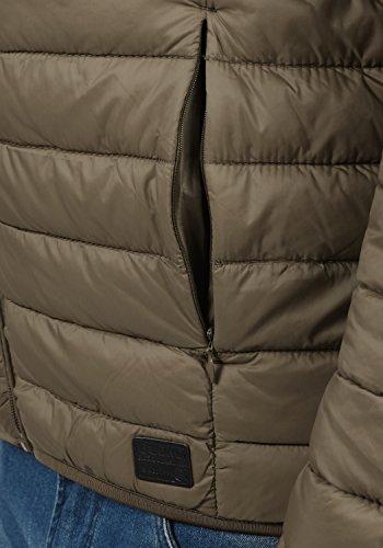 Blend Nils Herren Steppjacke Übergangsjacke Jacke Mit Stehkragen, Größe:S, Farbe:Mocca Brown (71508) - 5