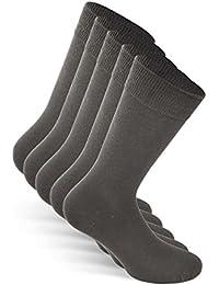Snocks ® Herren Business Socken (5x Paar) Lange Haltbarkeit Dank Bester Qualität (Ohne Fusseln)