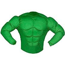 Widman - Disfraz de Hulk adultos, talla S