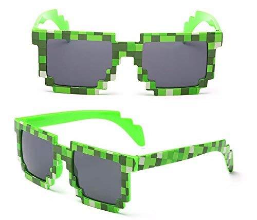 Minecraft Sonnenbrille mit 8-Bit Pixel für Youtuber - Gamer - Geeks