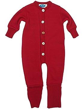 Reiff Baby Overall/Schlafanzug Frottee, 70% Merino-Schurwolle kbT. / 30% Seide