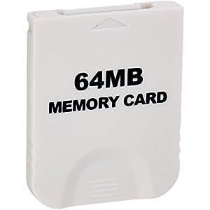 Childhood Weiß 64M Speicherkarte für Wii NGC Gamecube Konsole