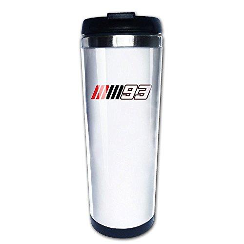 MIOPAIGE Moto GP Marc Marquez 93 Logo Vacuum Cup Coffee/Travel Mug(Teetassen/Kaffeetassen)s (House Logo White)