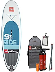 "Red Paddle Co SRED698 - Tablas paddle surf hinchables, color azul, 9'8"" x 31"""