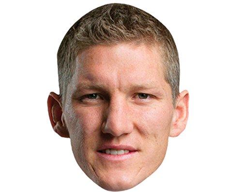 Celebrity Cutouts Bastian Schweinsteiger Maske aus Karton