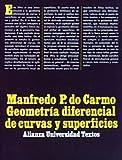 Image de Geometría diferencial de curvas y superficies (Alianza Universidad Textos (Aut))