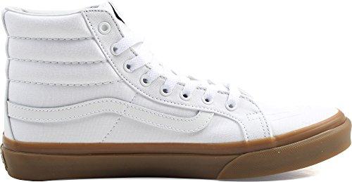 Vans Damen Ua Sk8-Hi Slim Hohe Sneakers (Light Gum) True White
