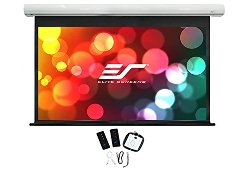 Best Price ELITE SCREENS SK120XHW-E10 265 x 149cm Viewing Area 120 Diagonal 16:9 Format White Case – (Projectors > Projector Screens) Review