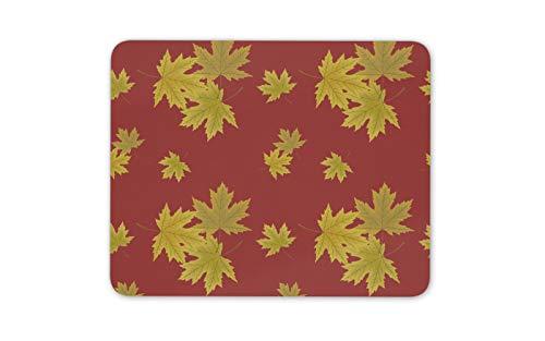 Herbst-Ahornblätter Mauspad Pad - Blatt-Baum-Wald Kanada Computer-Geschenk # 16243