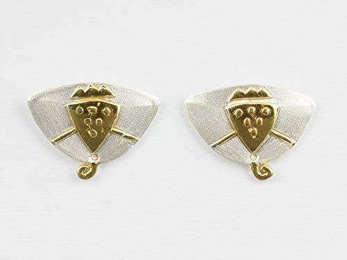 Silber-Ohrringe Kleopatra Ägypten Pharao Schmuck