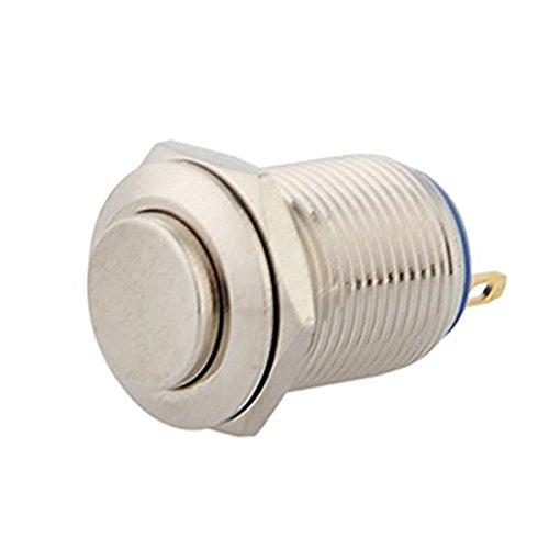 Preisvergleich Produktbild lovelifeast 12 mm 12 V Momentary Push Button Metall Schalter für DIY Auto Langlebig Höhe Qualität Mini