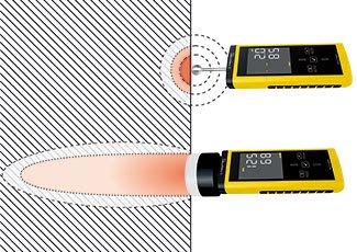 TROTEC T660 Feuchtemessgerät - kann bis 4 cm tief messen
