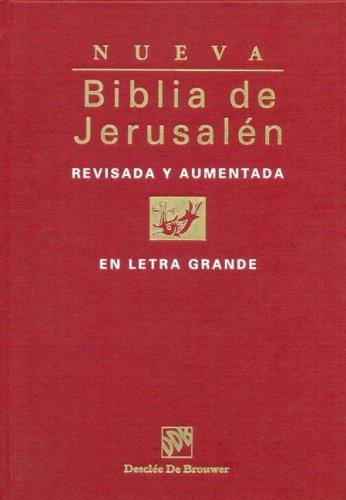 Biblia De Jerusalen Letra Grande (Biblia de Jerusalén)