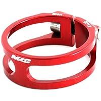 MSC Bikes MSC Ult. Alu7075T6 CNC+TI 38 mm - Cierre tija de sillín de ciclismo, color rojo anodizado