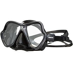 Mares X-Vision Verre Ultra Masque de plongée LS Lunettes-Gris/Noir/Gris/Noir, Taille BX clgrkgrk