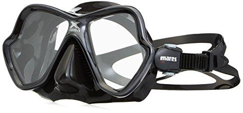 Mares Erwachsene X-Vision Ultra LiquidSkin Tauchermaske, Grey/Black, One Size -