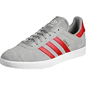 Adidas Gazelle unisex adulto, pelle scamosciata, sneaker bassa, 36 2/3 EU