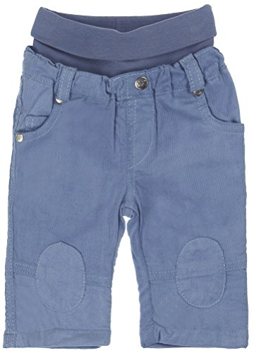 Steiff Baby - Jungen Hose 6522514, Gr. 56, Blau (infinity blue|blue 3210)
