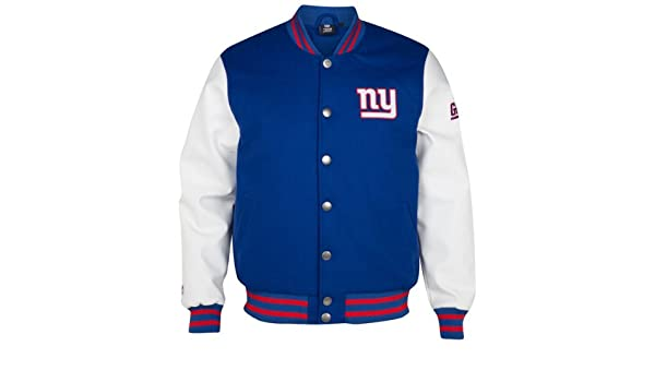 Majestic New York Giants Balfour Letterman NFL Jacke (XXL)  Amazon.co.uk   Sports   Outdoors 264b961a4