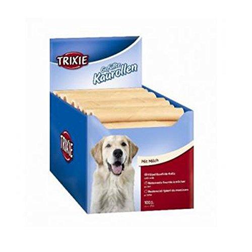 Rollen Kauwurzeln gefüllt Milchschokolade, 12cm, 35g für Hunde