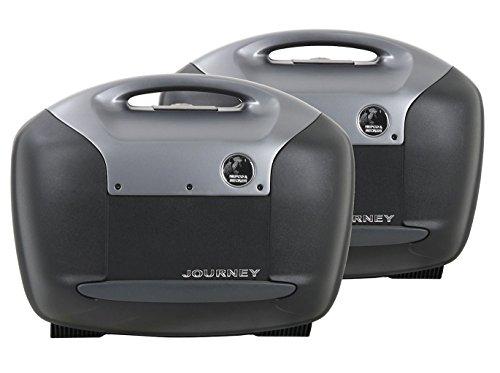 Journey-Seitenkofferset 42 Liter Recon mit anthrazit Blende Hepco&Becker