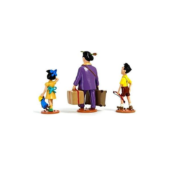 PIXI Figura Moulinsart: Tintín Serafín Latón con Sus Hijos - 46240 (2009) 3
